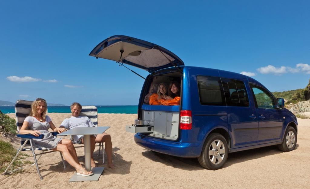 Vanessa Modulsystem macht aus Vans Reisemobile