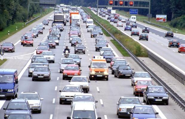 Verkehrsaufkommen - Autobahnen stärker belastet