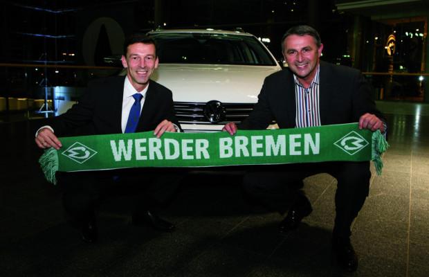 Volkswagen und Werder Bremen verlängern Partnerschaft bis 2013