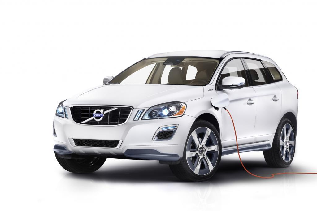 Volvo präsentiert in Detroit die Plug-in-Hybridversion des XC60