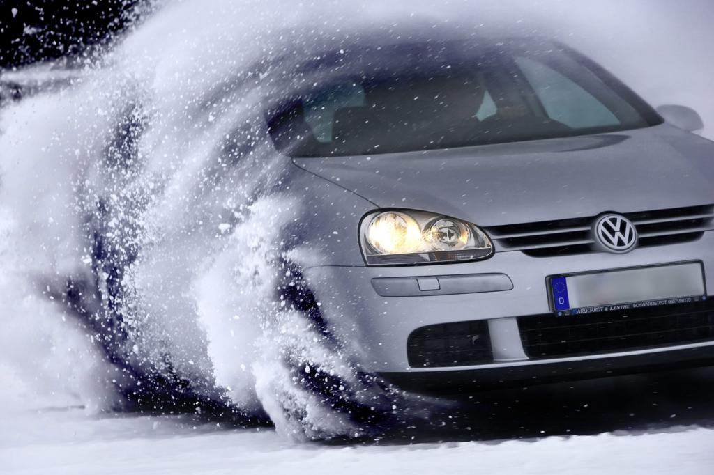 Winterzeit - Fahren bei Schnee und Eis