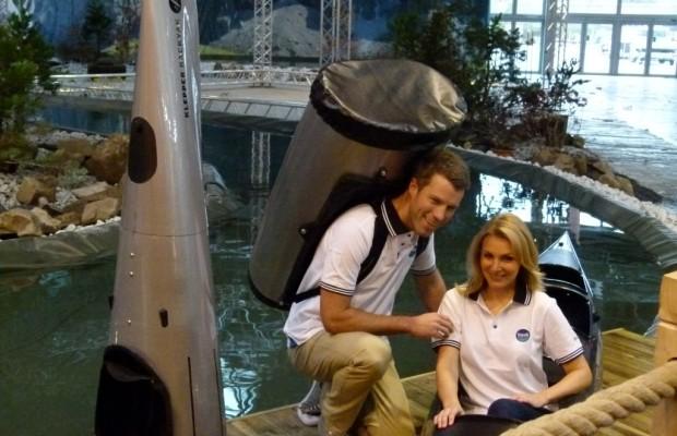 boot Düsseldorf 2012: Carbonboot, Kajaks und WaterPedelecs