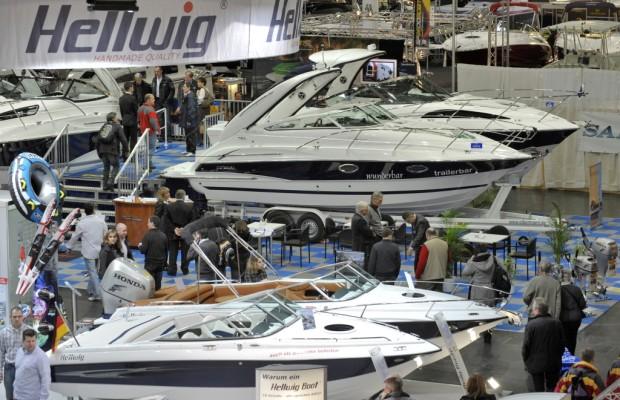 boot Düsseldorf 2012: Einstiegsboote klar im Trend