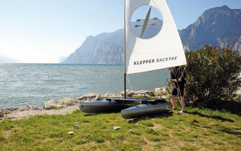 boot Düsseldorf 2012: Klepper Backyak – Carbon Kajak feiert Weltpremiere