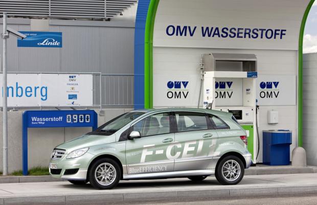 2011 entstanden weltweit zwölf neue Wasserstoff-Tankstellen