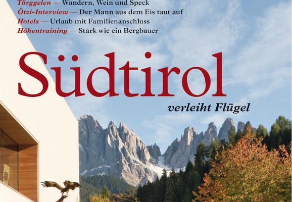 ADAC bringt Reisemagazin über Südtirol