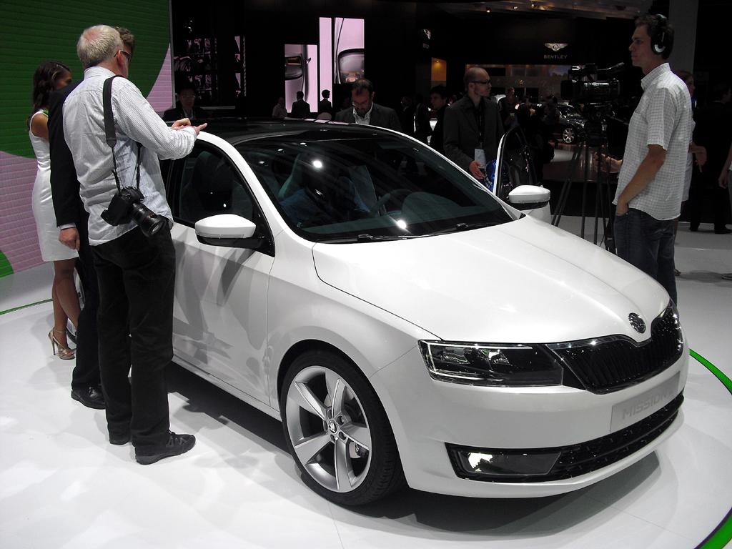 Auch die tschechische Volkswagen-Tochter Skoda, hier die