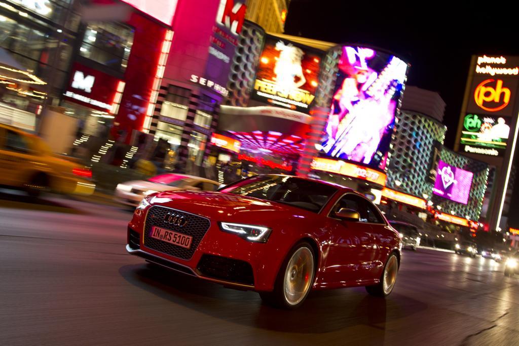 Audi RS5 - Mit geschärftem Blick