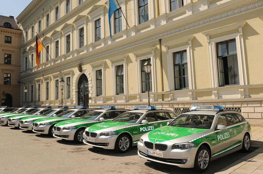 BMW-Einsatzfahrzeuge für die bayerische Polizei