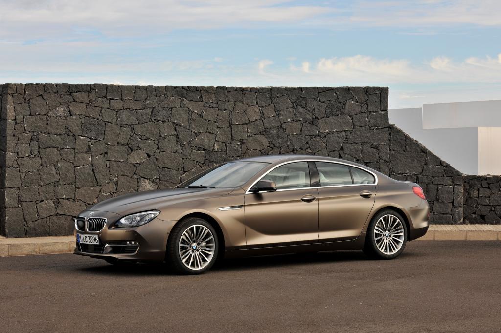 BMW zeigt in Genf das 6er Gran Coupe