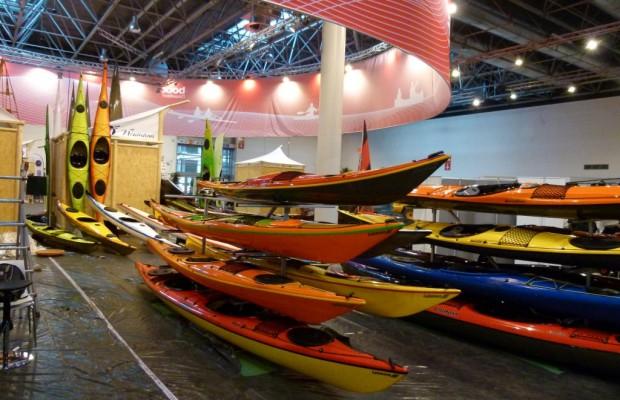 Beach & Boat Leipzig 2012: Einstiegsboote, Canadier und Faltkanus