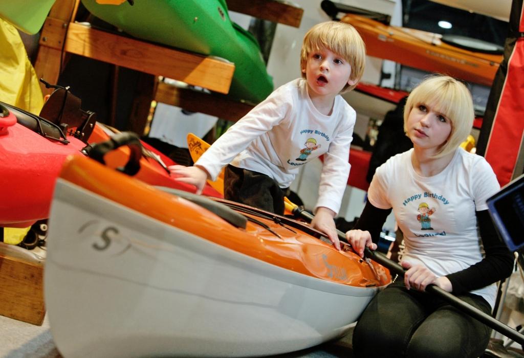Beach & Boat Leipzig 2012: Wassersport für Familien