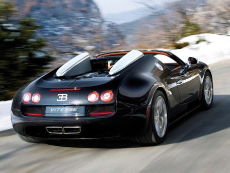 Bugatti Veyron Roadster Quelle: Bugatti