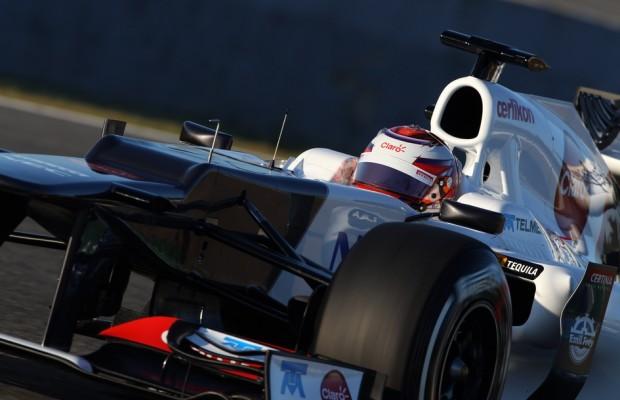 Certina sponsort 2012 Sauber F1 Team