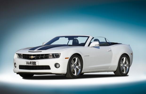 Chevrolet Camaro Cabrio: Tieferlegungssatz für Muscle Car