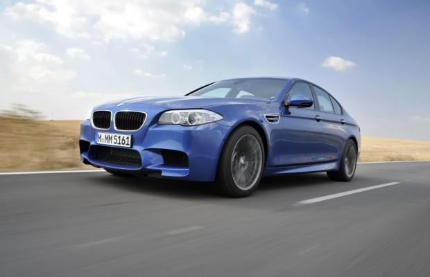 Da geht was ab im BMW M5