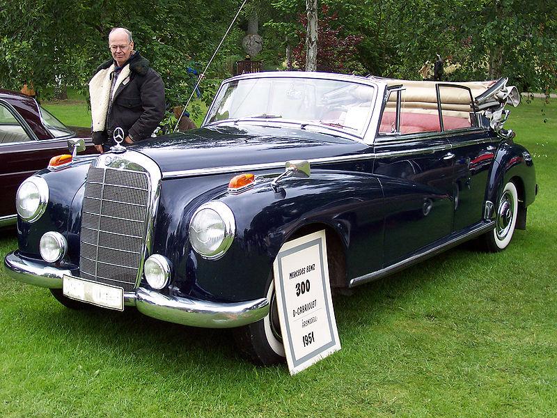 Der Adenauer-Mercedes Cabrio Quelle: Wikipedia