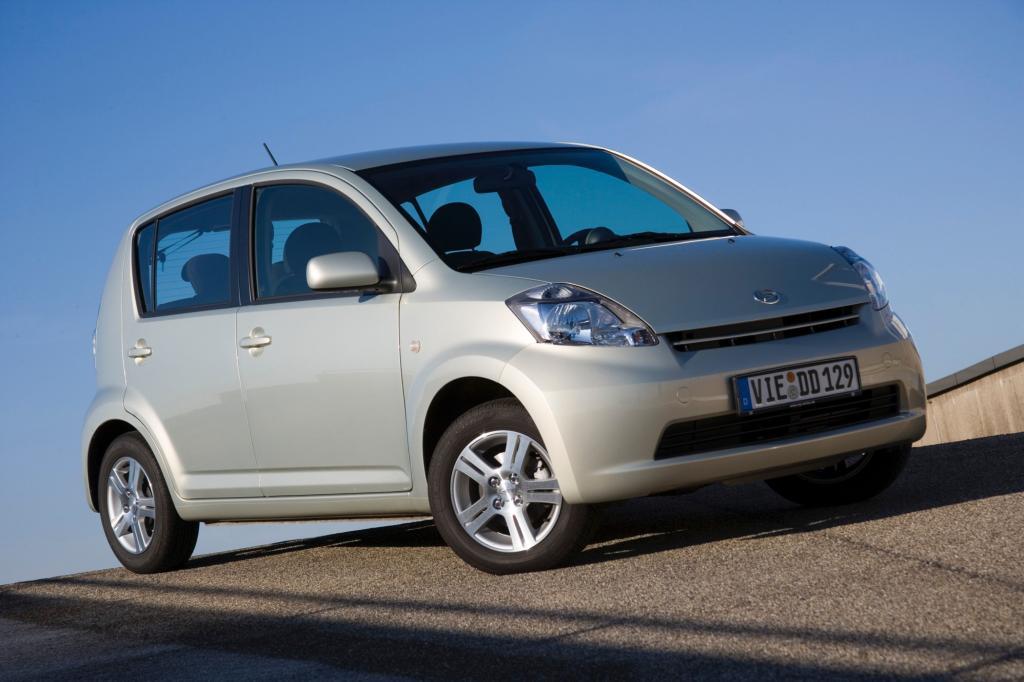 Der Daihatsu Sirion hebt sich angenehm vom Kleinwageneinerlei ab