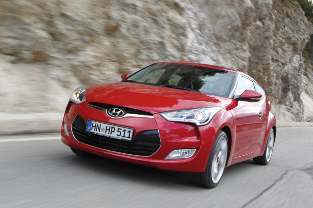 Der Veloster soll das sportliche Image von Hyundai schärfen