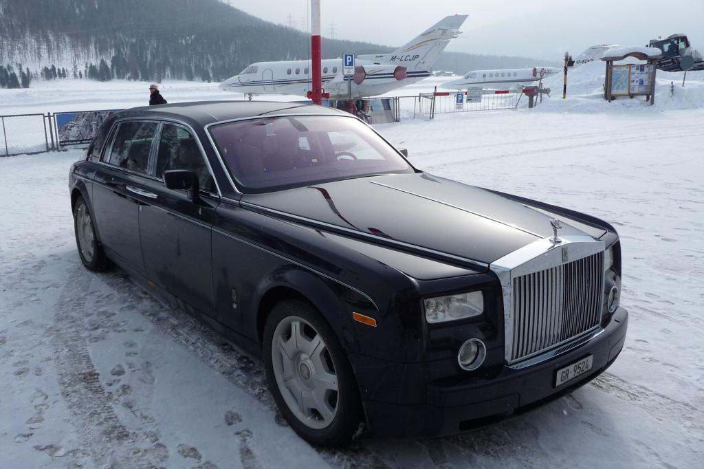 Ein aktueller Rolls-Royce Phantom