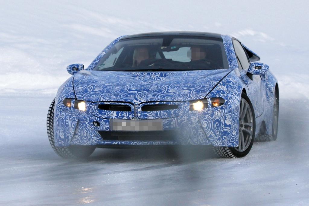 Erwischt: BMW i8 – Effizienter Kraftprotz