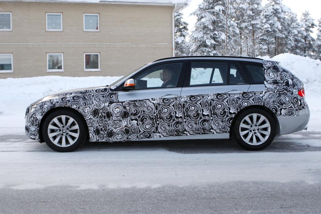 Erwischt: Erlkönig BMW 3er Touring - Kompakte Effizienz