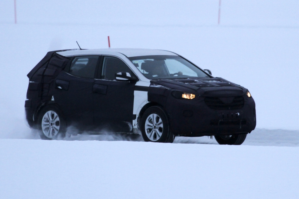 Erwischt: Erlkönig Hyundai ix45
