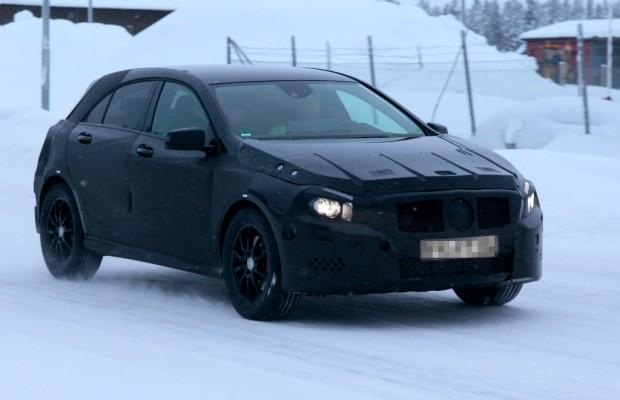 Erwischt: Erlkönig Mercedes A-Klasse - AMG im Schnee?