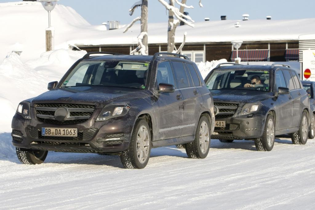 Erwischt: Erlkönig Mercedes-Benz GLK – Facelift
