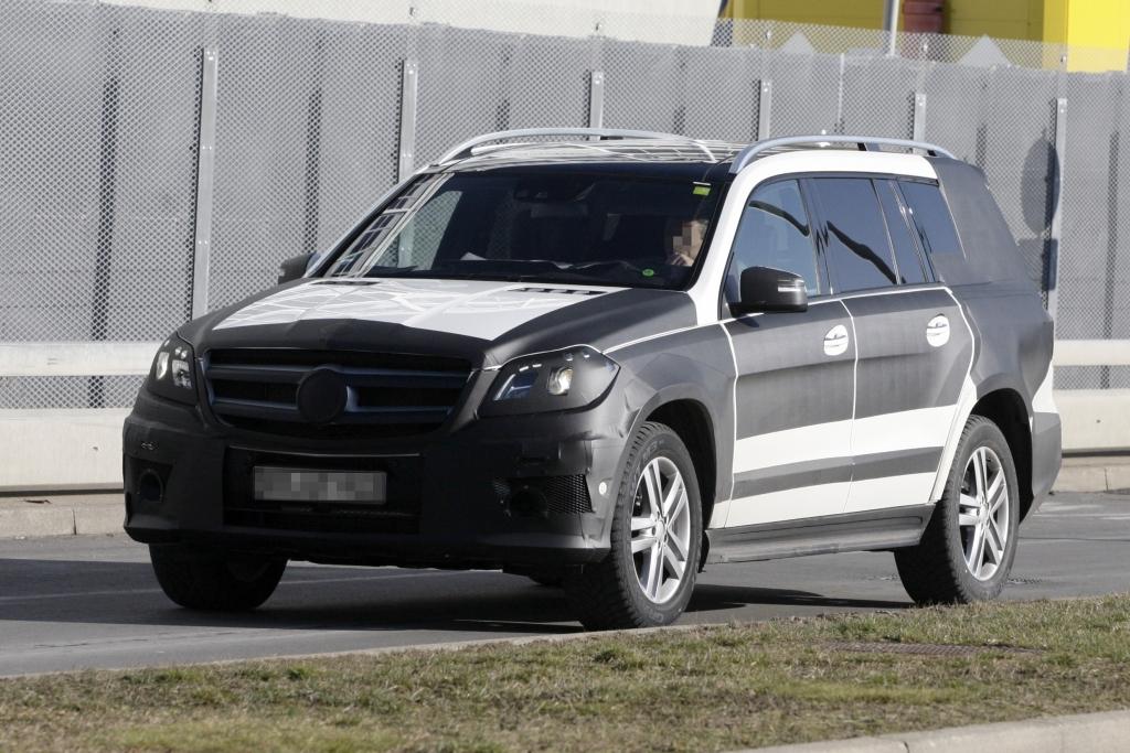 Erwischt: Erlkönig Mercedes GL – Keine Geheimnisse