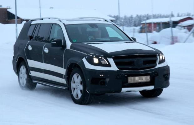 Erwischt: Erlkönig Mercedes GL – Schneeungeheuer