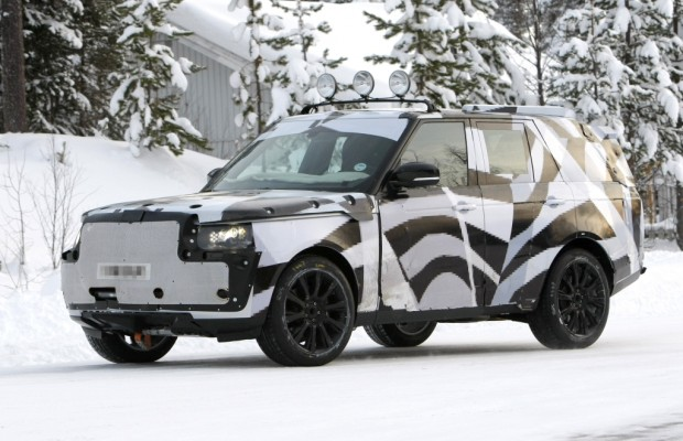 Erwischt: Erlkönig Range Rover mit brandneuem Gesicht