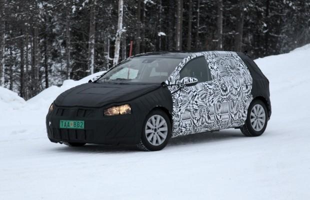 Erwischt: Erlkönig VW Golf VII - Das neue Herz