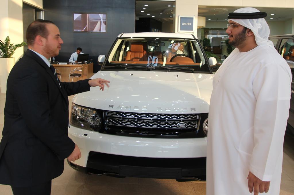 Für Emiratis ist der Range Rover so alltäglich wie ein VW Golf