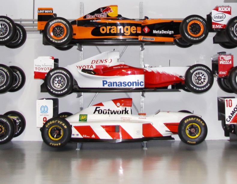 FNT bringt Toyota-Formel-1-Wagen zurück auf die Rennstrecke