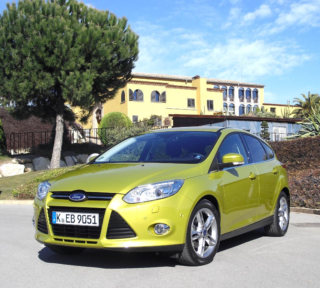 Ford setzt den aufgeladenen Dreizylinder-Benziner erst im Focus ein.