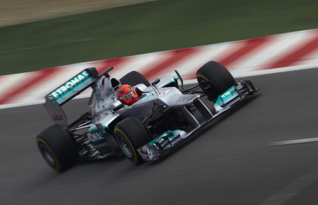 Formel 1 in Barcelona: Erster Auftritt des neuen Mercedes AMG Petronas