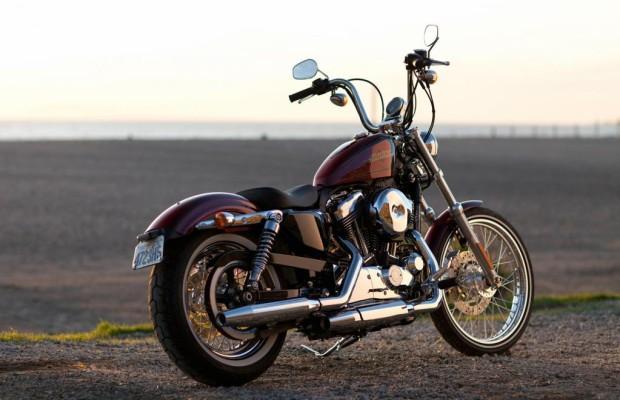Ganz retro: Harley-Davidson Sportster Seventy-Two