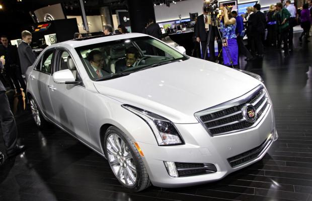 Genf 2012: Europadebüt des Cadillac ATS