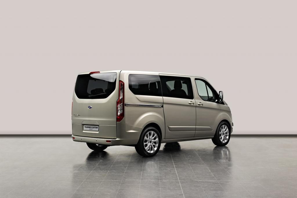 Genf 2012: Ford Transit Tourneo Custom - Kleinbus für die Großfamilie