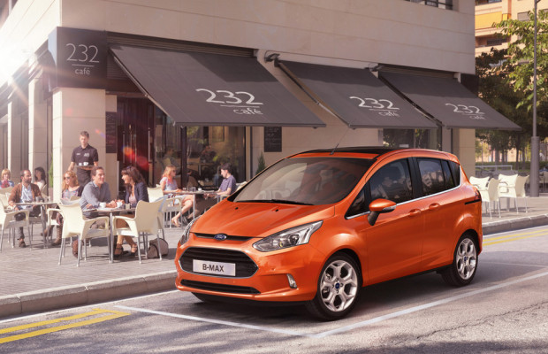 Genf 2012: Ford präsentiert den B-Max