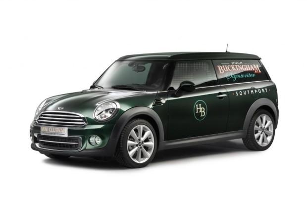 Genf 2012: Mini Clubvan Concept - Der Lifestyle-Lieferwagen