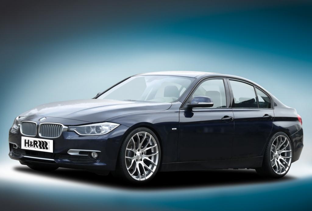 H&R legt BMW 3er tiefer