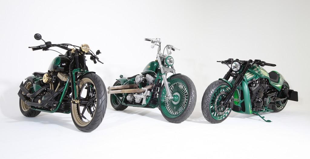 Harley-Davidson und Jever verlosen drei Custombike-Unikate