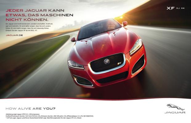 Jaguar mit neuem Werbeauftritt