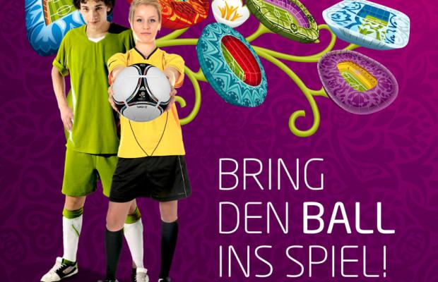 Kia sucht Ballkind für das Finale der Fußball-EM