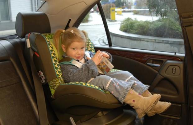 Kindersicherheit - Der beste Platz ist hinten rechts