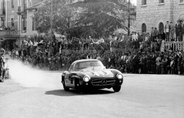 Mercedes-Benz-Ausstellung im Museo Mille Miglia