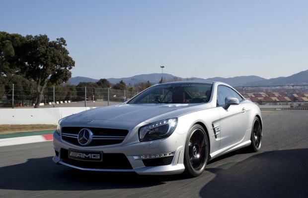 Mercedes-Benz zeigt SL 63 AMG