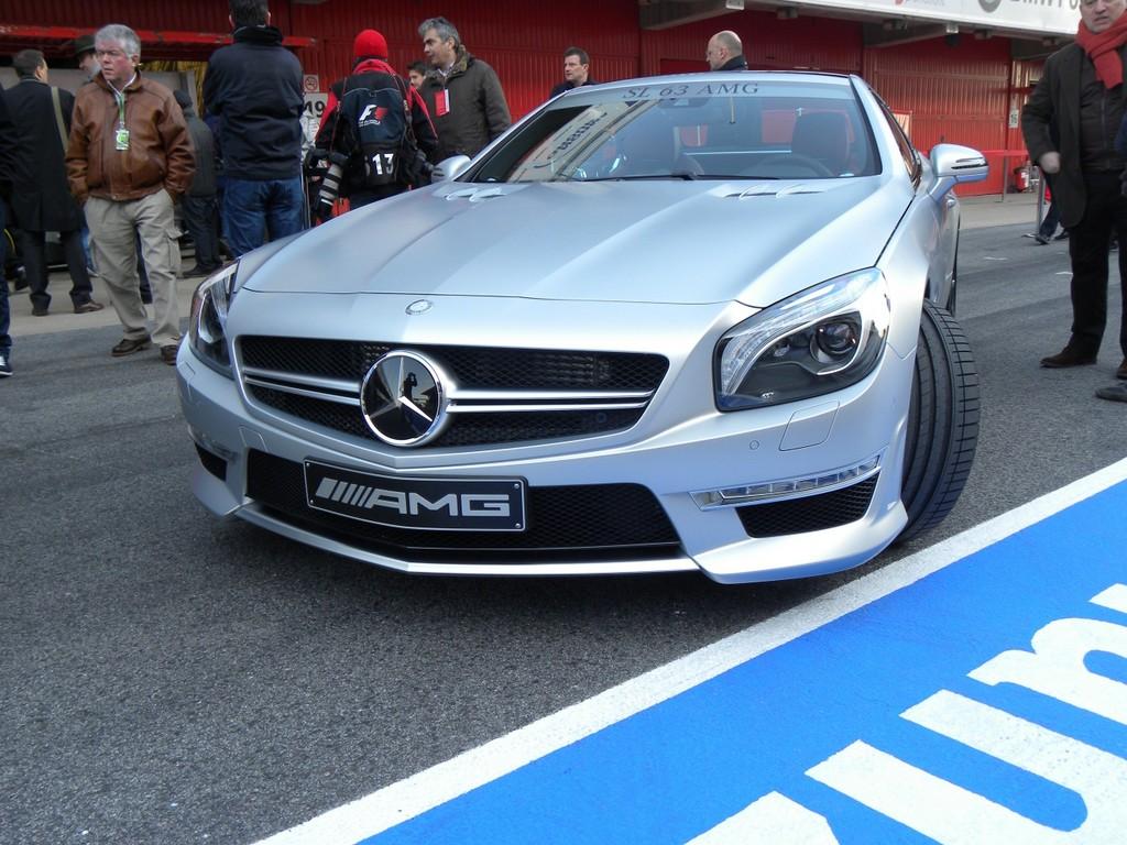Mercedes SL 63 AMG.